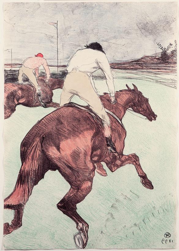 Henri de Toulouse-Lautrec Le Jockey 1899 Color Lithography, 51,1x35,5 cm © Herakleidon Museum, Athens Greece