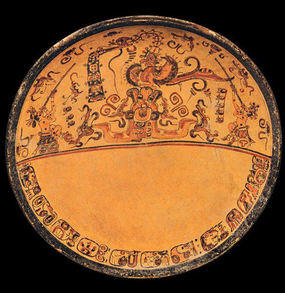 Maya Plate 'Blom'