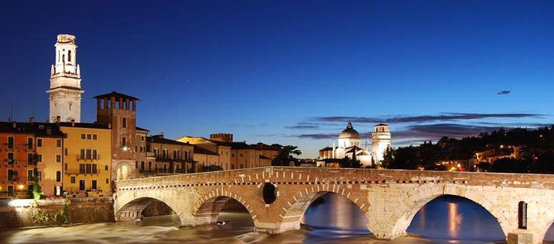 Verona: stone bridge