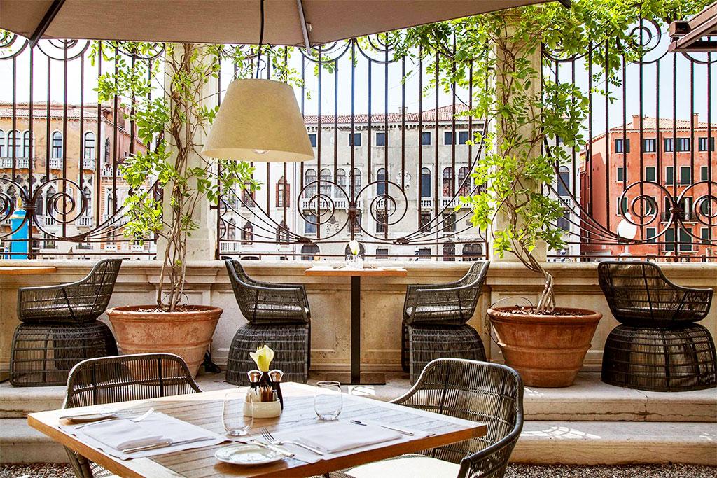 Aman restaurant in Venice