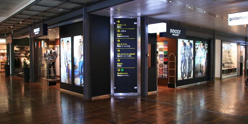 Boggi Milano in Venice's Airport