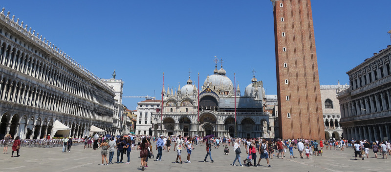 St Marks Square basilica copyright Danimisra