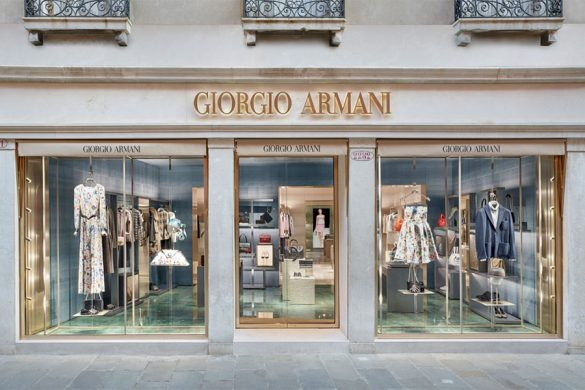 New Armani Boutique in San Marco