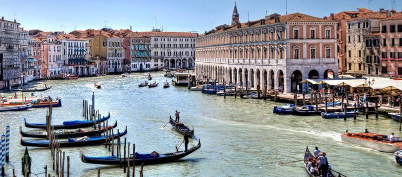 canal grande from ca sagredo hotel venice