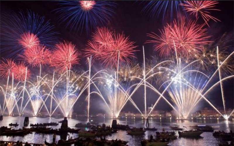 festa del redentore fireworks