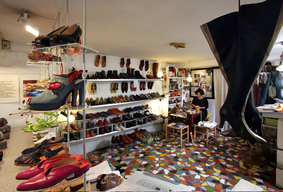 giovanna zanella handmade shoes near Rialto Bridge