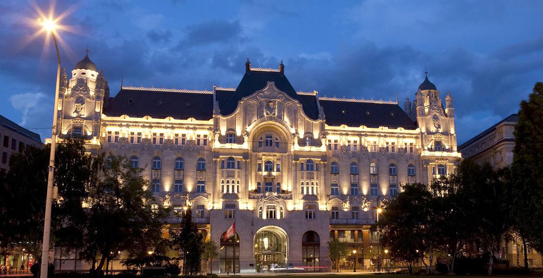 Four-Seasons-Gresham-Palace,-Budapest