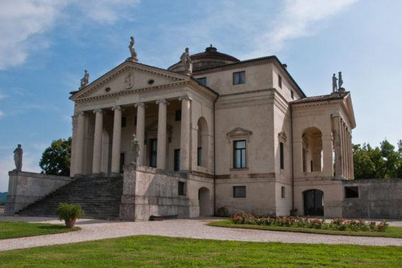 Villa La Rotonda by Palladio in Vicenza