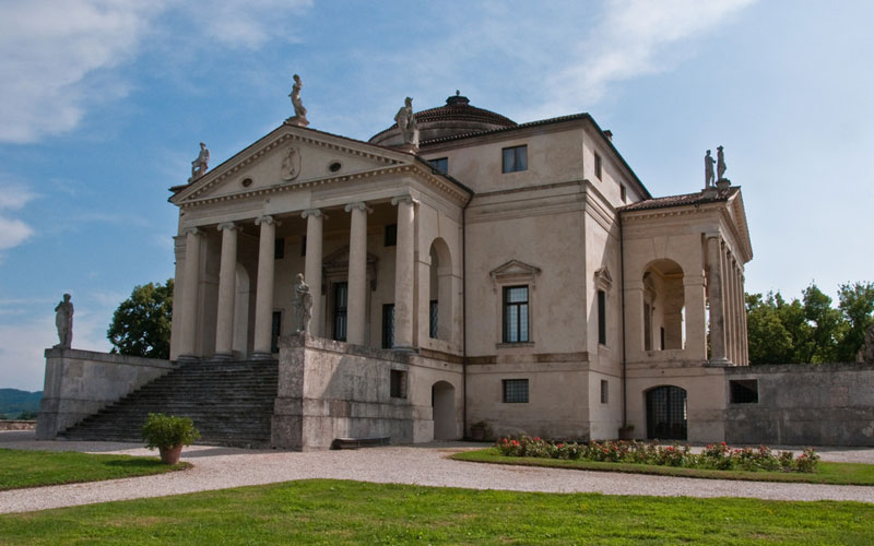 Villa La Rotonda by Palladio in Vicenza