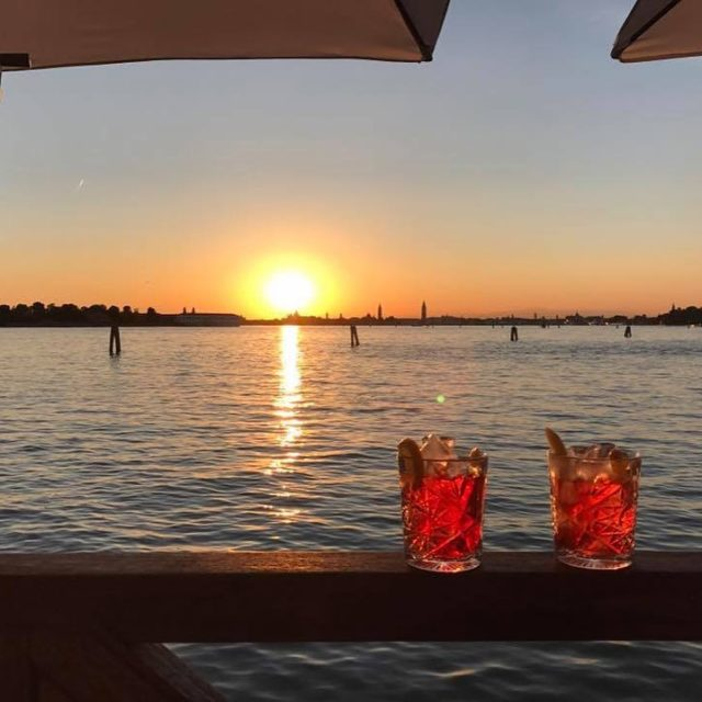cincin Essentiale Restaurant amp Lounge at Venice Lido cheers nazdraviehellip