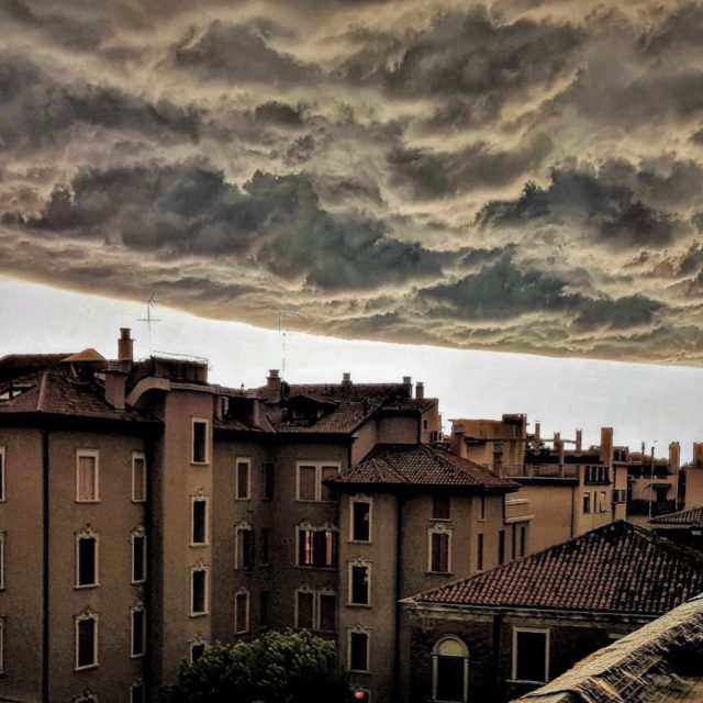 We had weird clouds today in Venice! nofilter noediting Justhellip