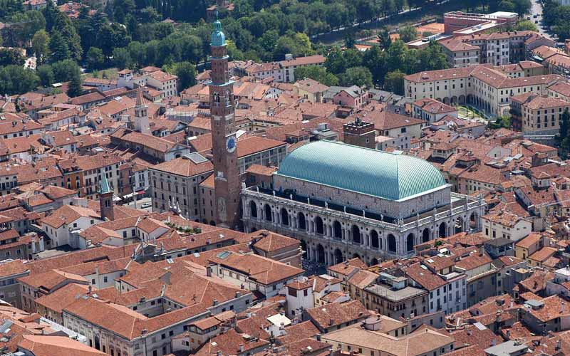 Aerial Vicenza Roofs