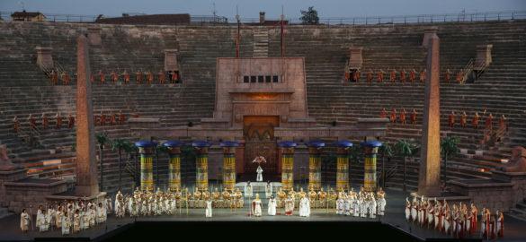 Aida at Arena in Verona (C) Photo Ennevi