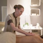 A massage at Almablu Wellness and Spa
