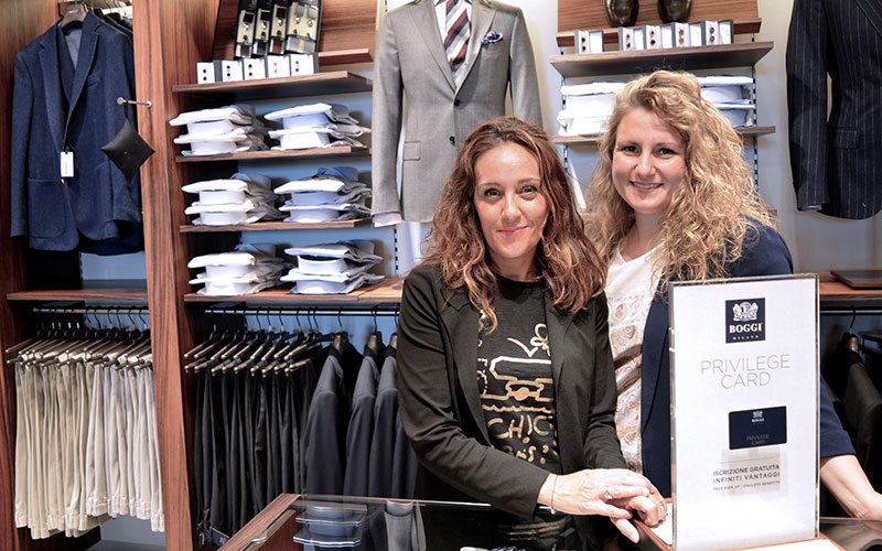 Boggi Milano staff boutique Cannaregio