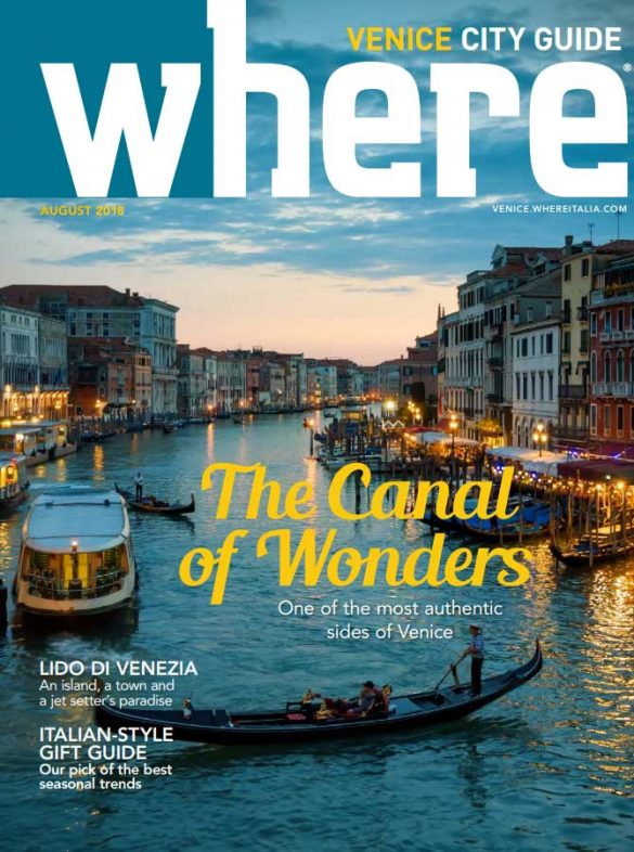 Cover Where Venice - 24 August 2018