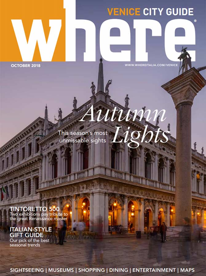 Cover Where Venice 26 October 2018