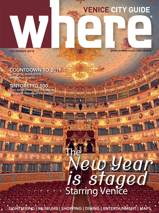 Cover Where Venice 28 December 2018