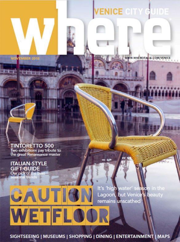 Cover Where Venice 27 November 2018