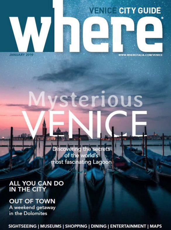Cover Where Venice 29 January 2019
