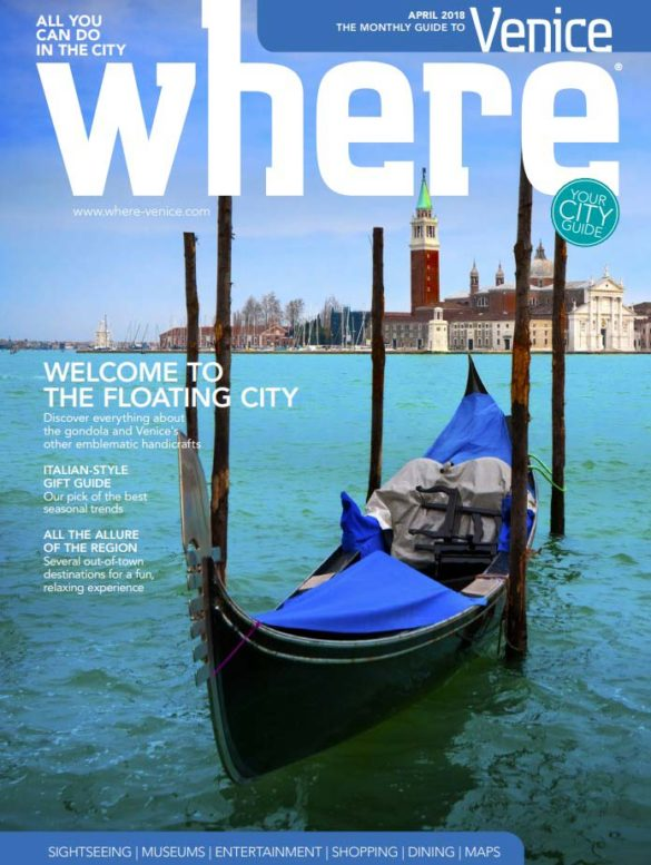 Cover Where Venice n.20 April 2018