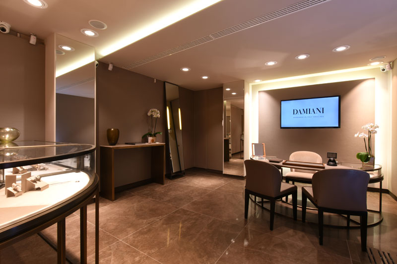 Damiani New Boutique Venice