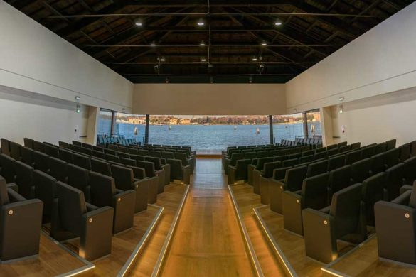Lo Squero, Auditorium Fondazione Cini Photo by Samuele Cherubini - Venice Documentation Project