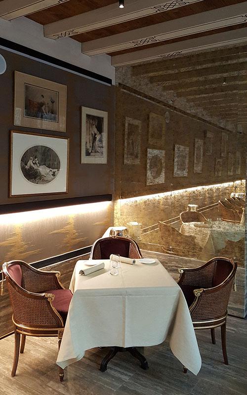 GLAM restaurant c/o Palazzo Venart Luxury Hotel