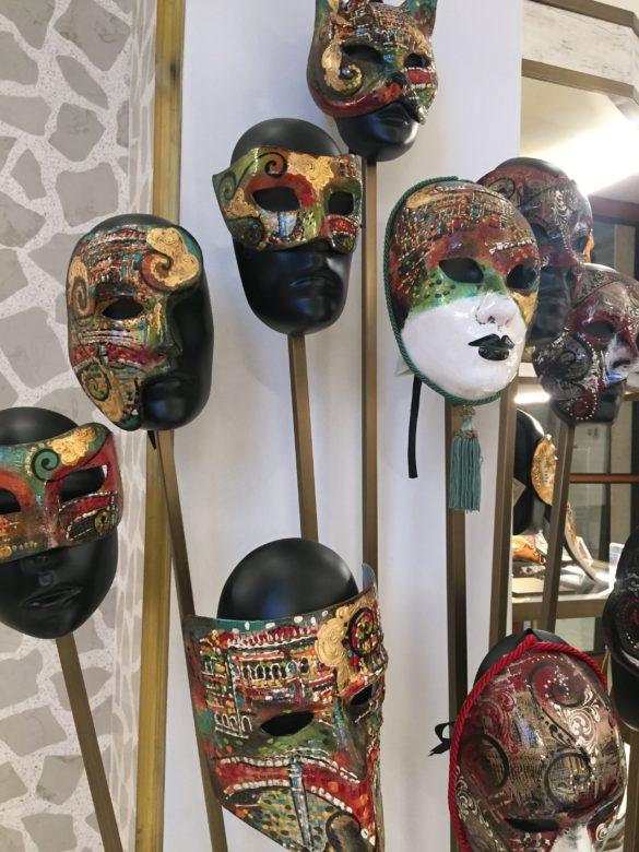 Ground Floor Italian artisan masks T Fondaco dei Tedeschi