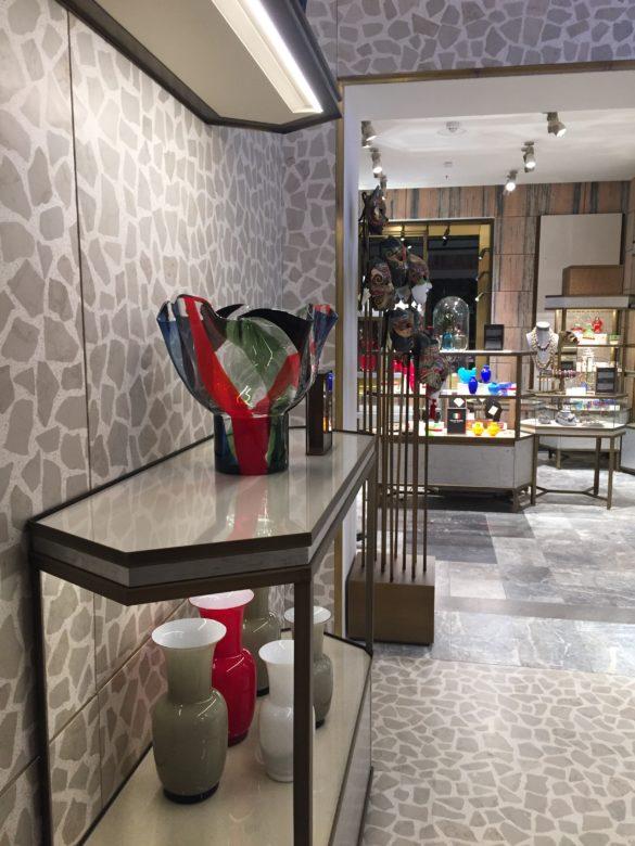 Ground Floor Italian artisans Venini T Fondaco dei Tedeschi