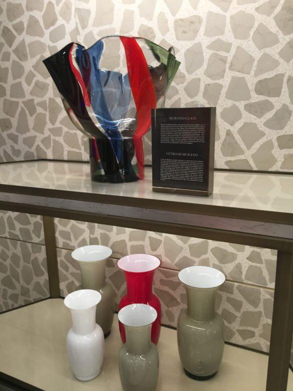 Ground Floor Italian artisans Venini vases T Fondaco dei Tedeschi