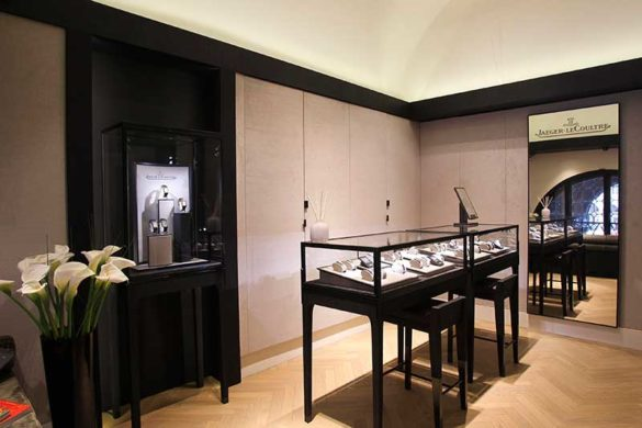 The boutique Jaeger-LeCoultre in Venice