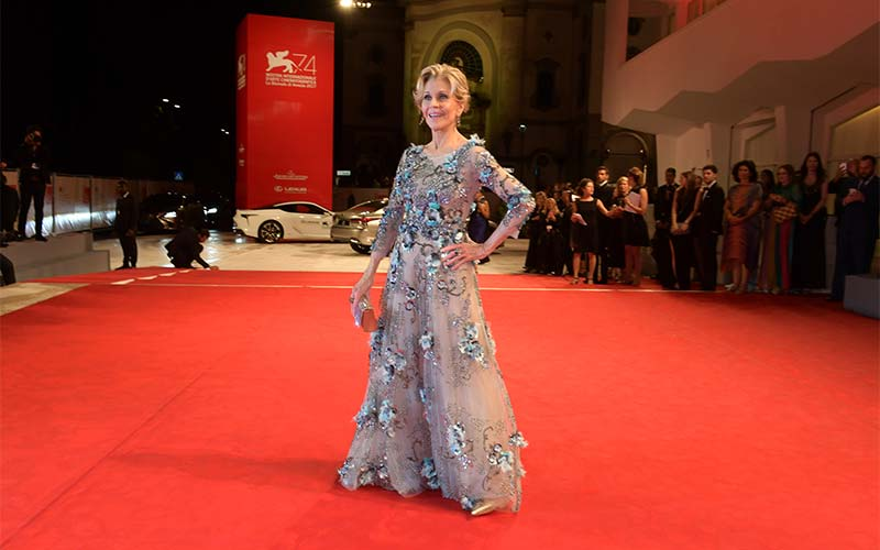 Jane Fonda in Venice, photo credits ASAC