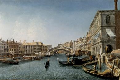 Canal Grande by Michele Marieschi (Venice, 1710-144)