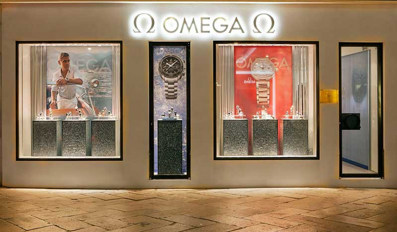 Boutique Omega in San Marco