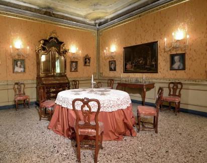 One of the rooms of Palazzo Mocenigo