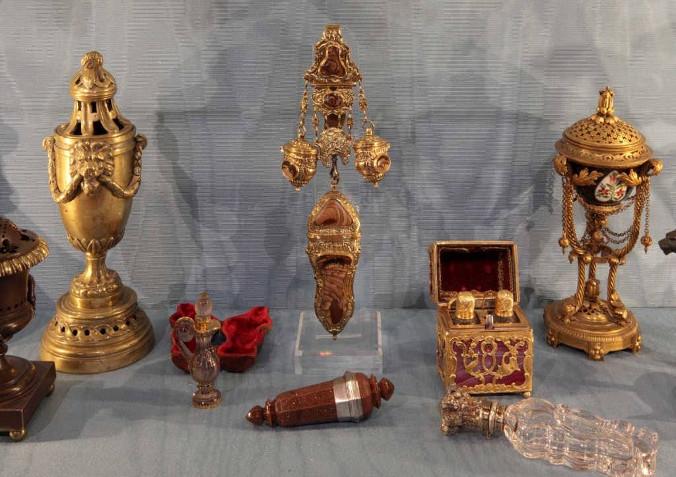 The perfume museum of Venice, at Palazzo Mocenigo