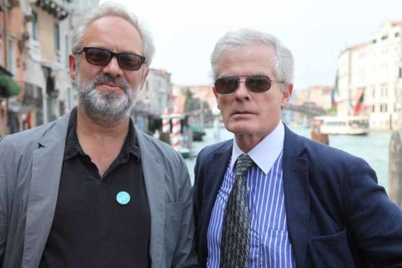 Philip Ryland e Sam Mendes during the exclusive breakfast by Tiffany & Co. at Peggy Guggenheim