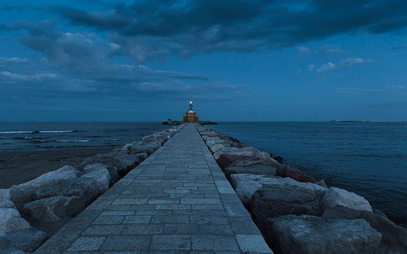 The lighthouse at Punta Sabbioni