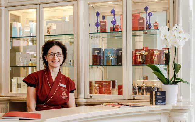 Anna Bortolin, the Spa Manager