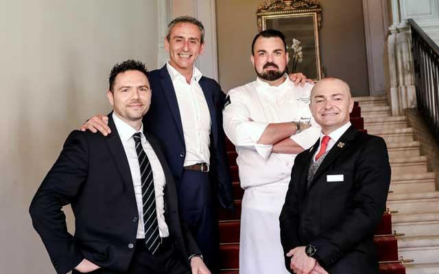 Marko Ludovici, Silvio Iacovino, Giorgio Schifferegger and Alessandro Heinrich