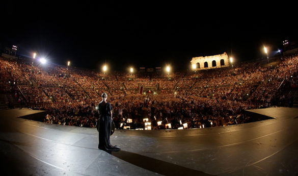 Verona Arena, July 2015 photo credits: Ennevi