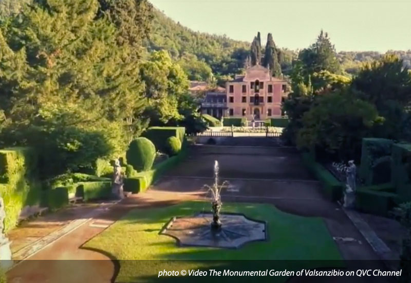 Video The Monumental Garden of Valsanzibio