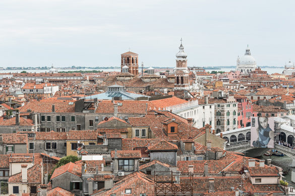 View on Venice from T-Fondaco - Photo by Delfino Sisto Legnani and Marco Cappelletti © Dfs Group
