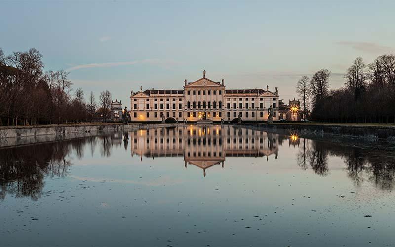 An aristicratic villa on the Brenta