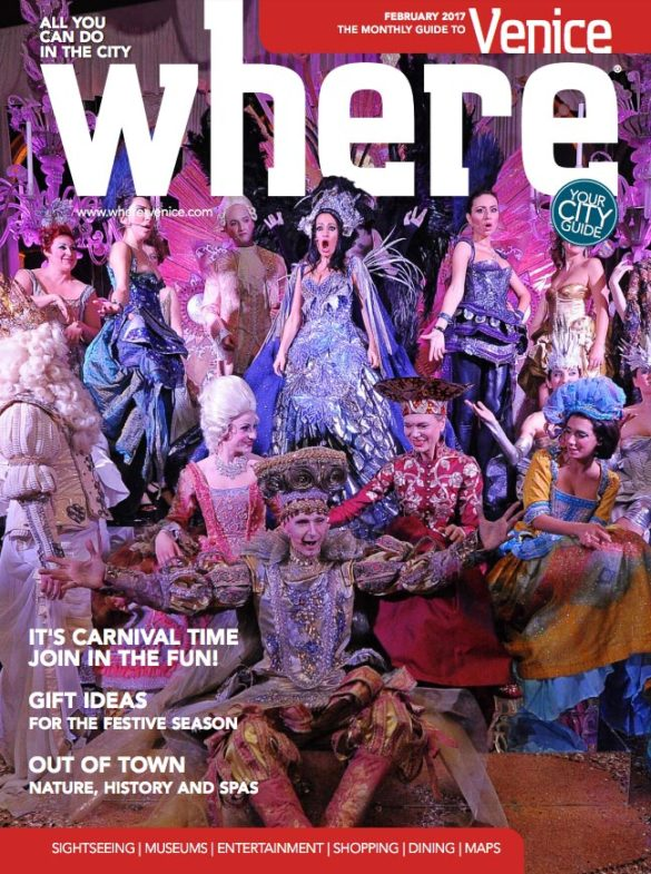 Where Venice Cover February 2017