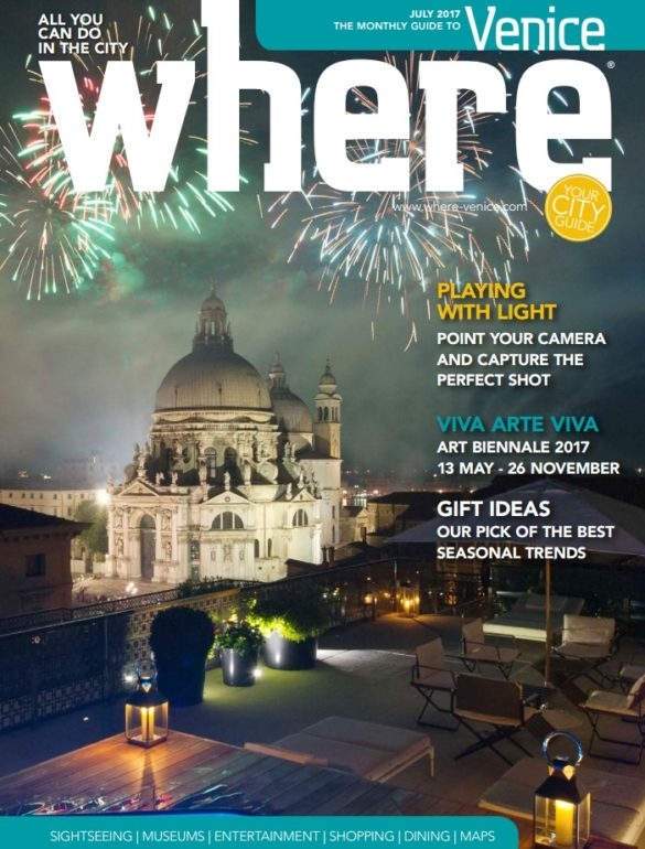 Where Venice Cover July 2017