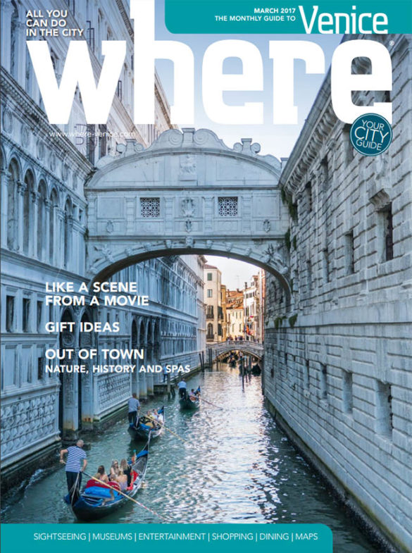 Where Venice Cover March 2017