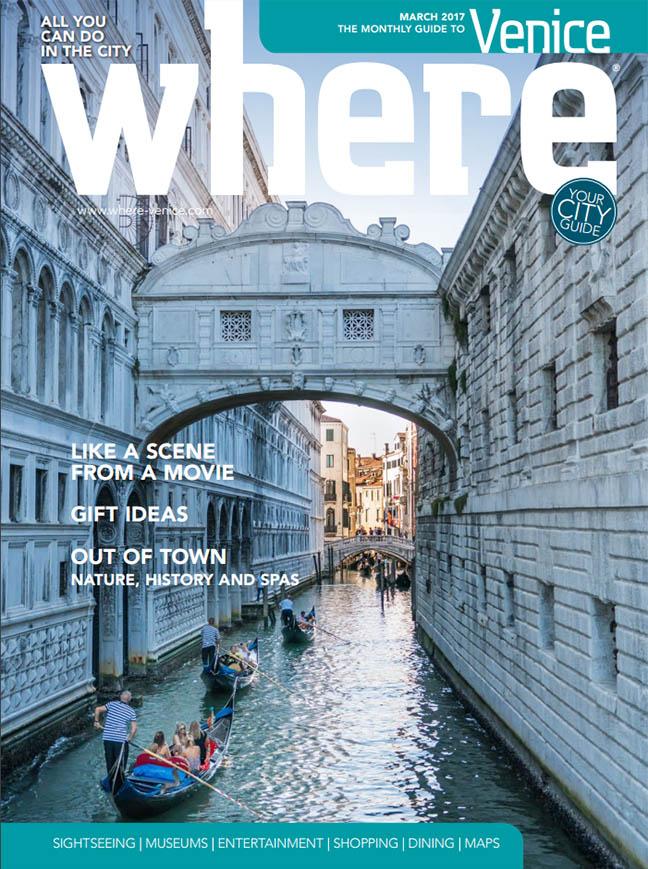 Where Venice Cover March 2017