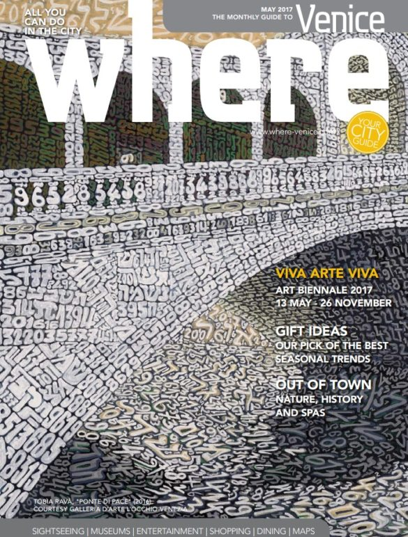 Where Venice Cover May 2017